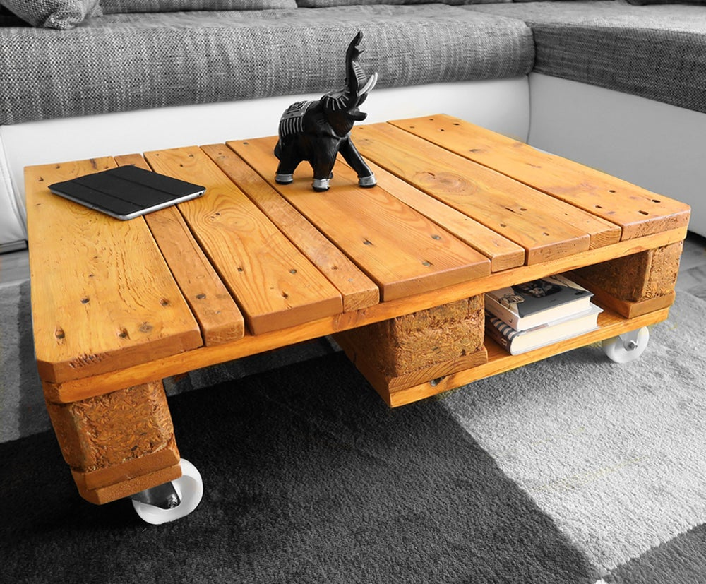 Easy Coffee Table.Pallet Coffee Table Easy Cheap Video 11 Steps With Pictures