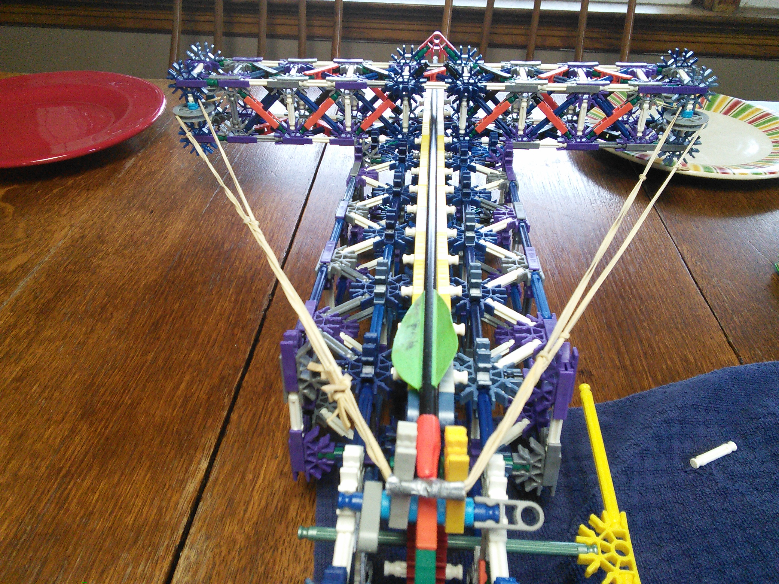 Picture of Knex Crossbow, With Real Arrows!
