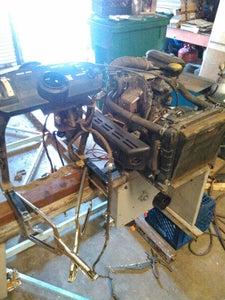 Engine Controls, Pulleys Turning