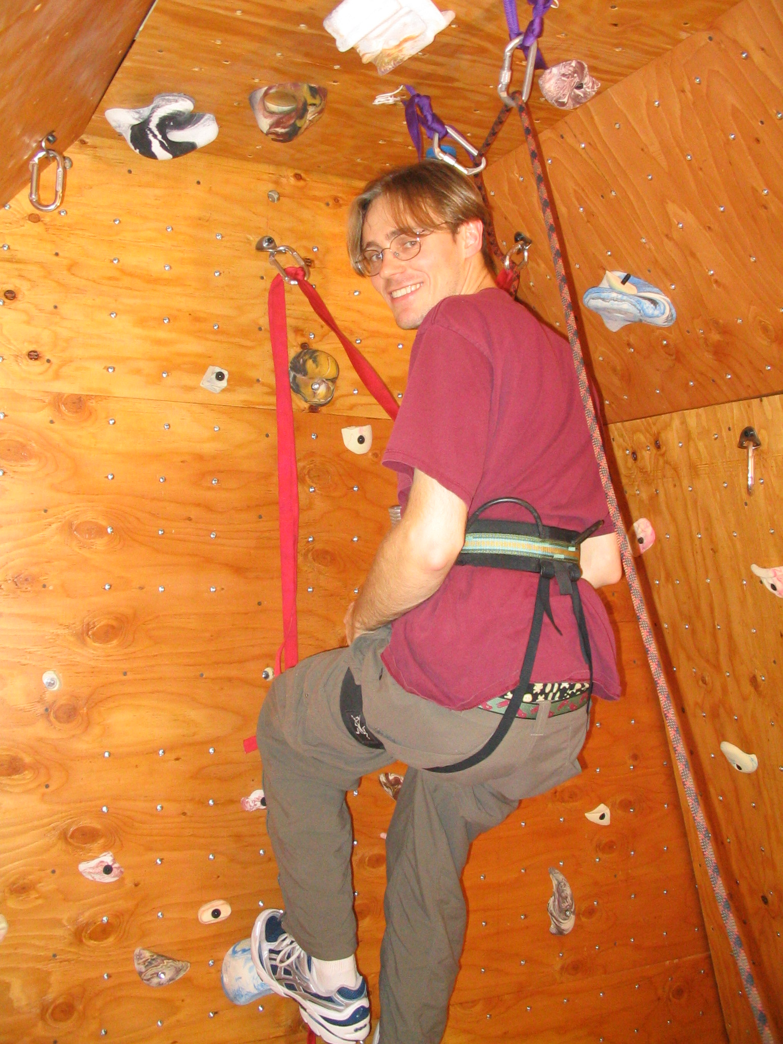 Building a Climbing Wall at the Top of the Stairs (with ...