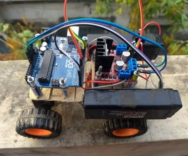 Arduino Bluetooth Controlled Car