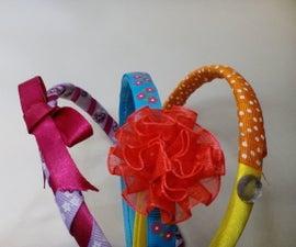 Rainbow Ribbon Hairbands