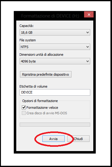Picture of [1] Choose Hard Drive and Format It. / Scegli Un Hard Disk E Formattalo.
