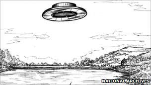 Picture of UFO conspiracy, anybody?