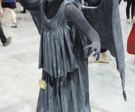 Doctor Who Weeping Angel Costume