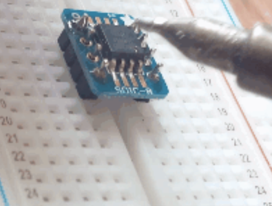 Solder the Headers to the Board