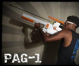 Pneumatic Arrow Gun, PAG-1