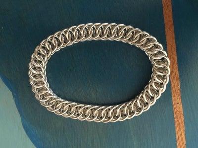 Chainmail Bracelet - Half Persian 4-1