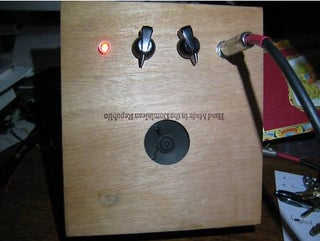 The Process of Building a Cigar Box Guitar Amp - Little Gem or the $5 Crackerbox Amp