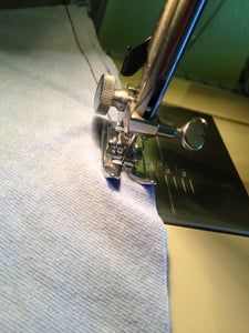 The Only Sewing Step!