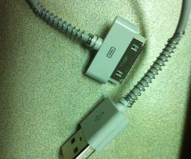 Protect your iPhone / iPod sync cable