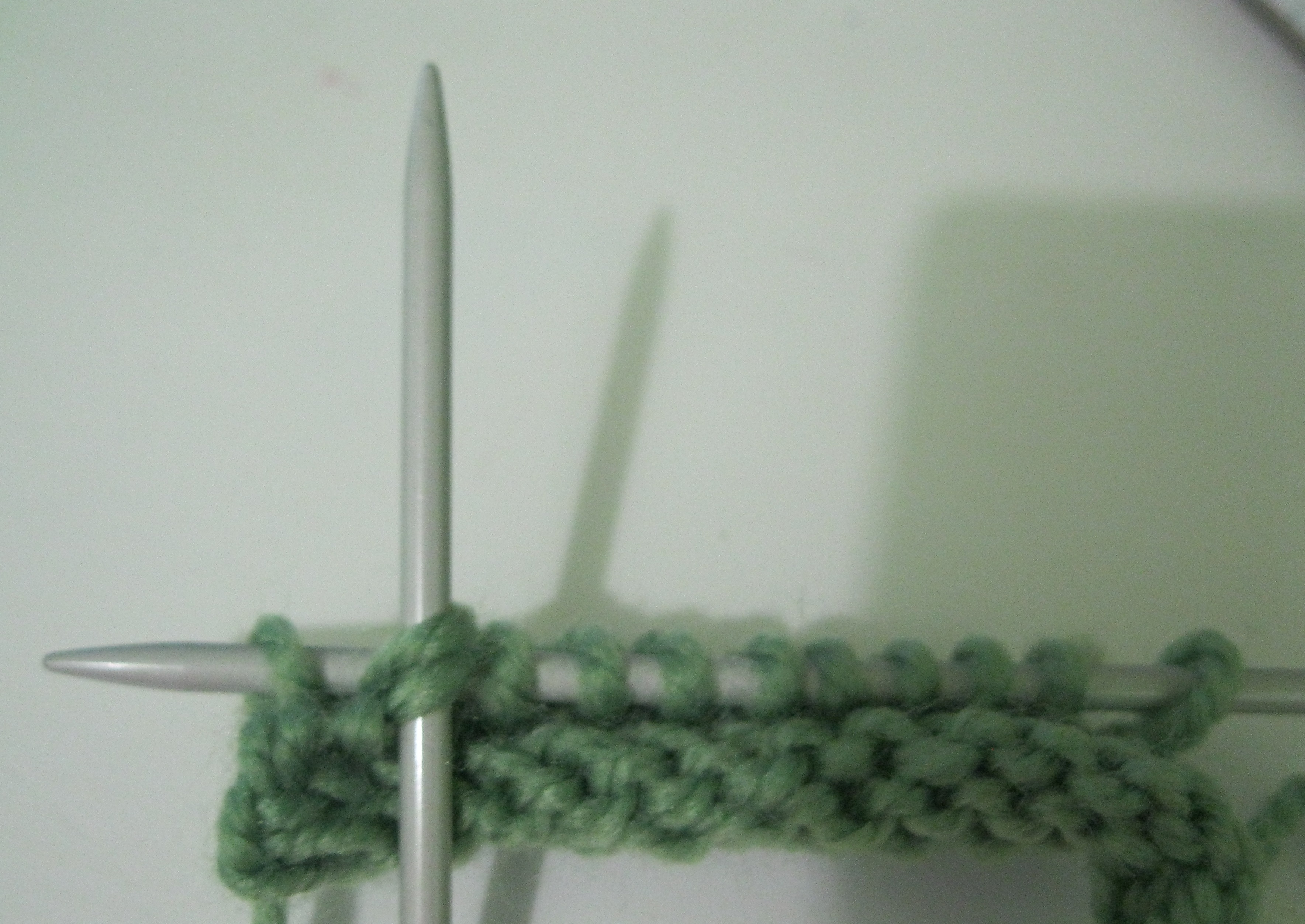 Picture of Green Section of Beanie