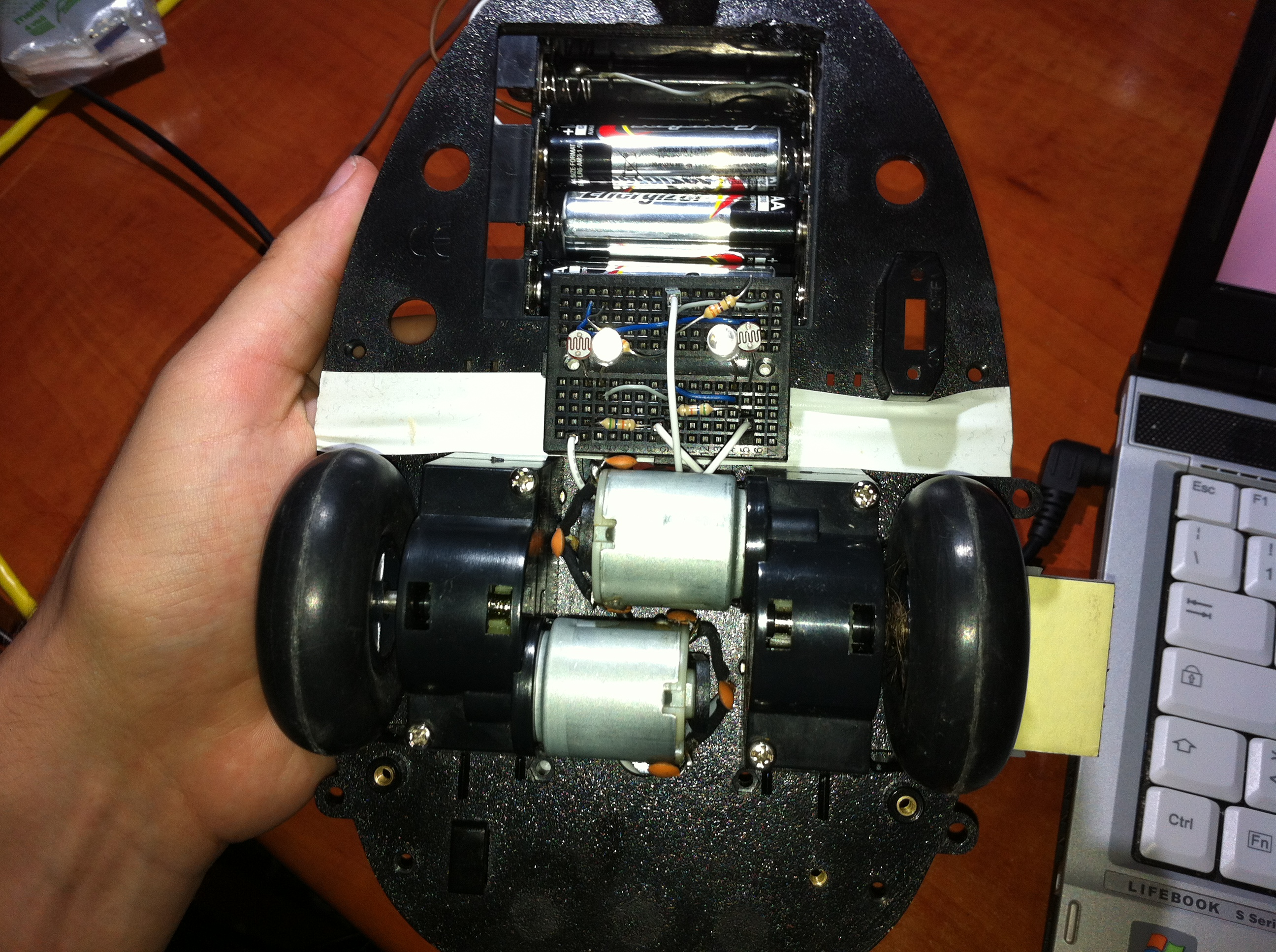 Picture of Robot Frame