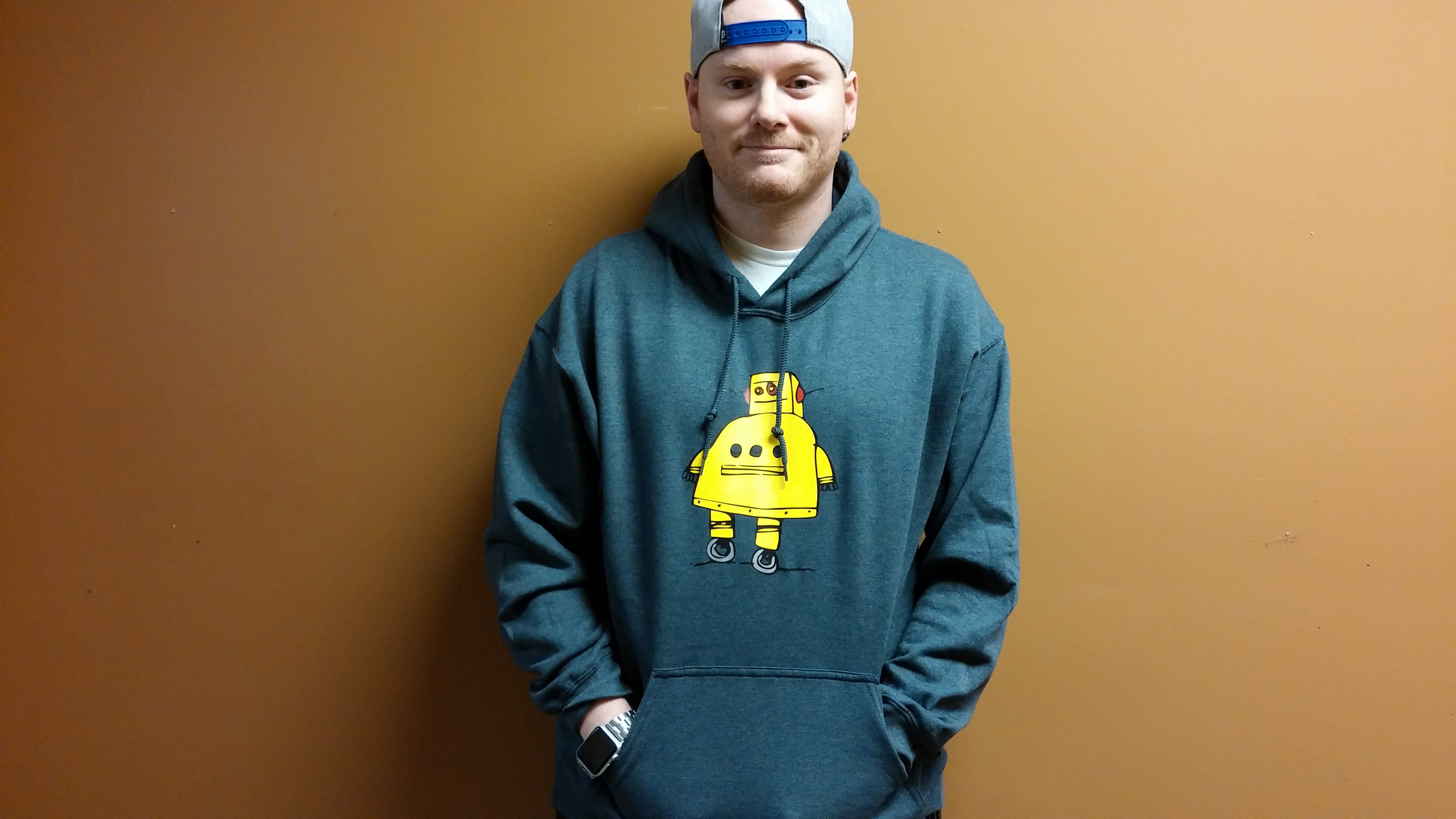 Picture of Custom Multicolor Hooded Sweatshirt