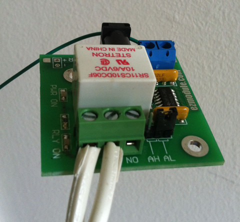 Picture of Connect to Relay Board