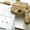 Han Solo Cardboard Blaster with Magnetic Display Board