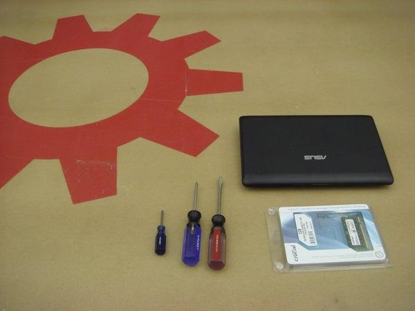 Memory Card Swap for Asus Eee PC 1001P