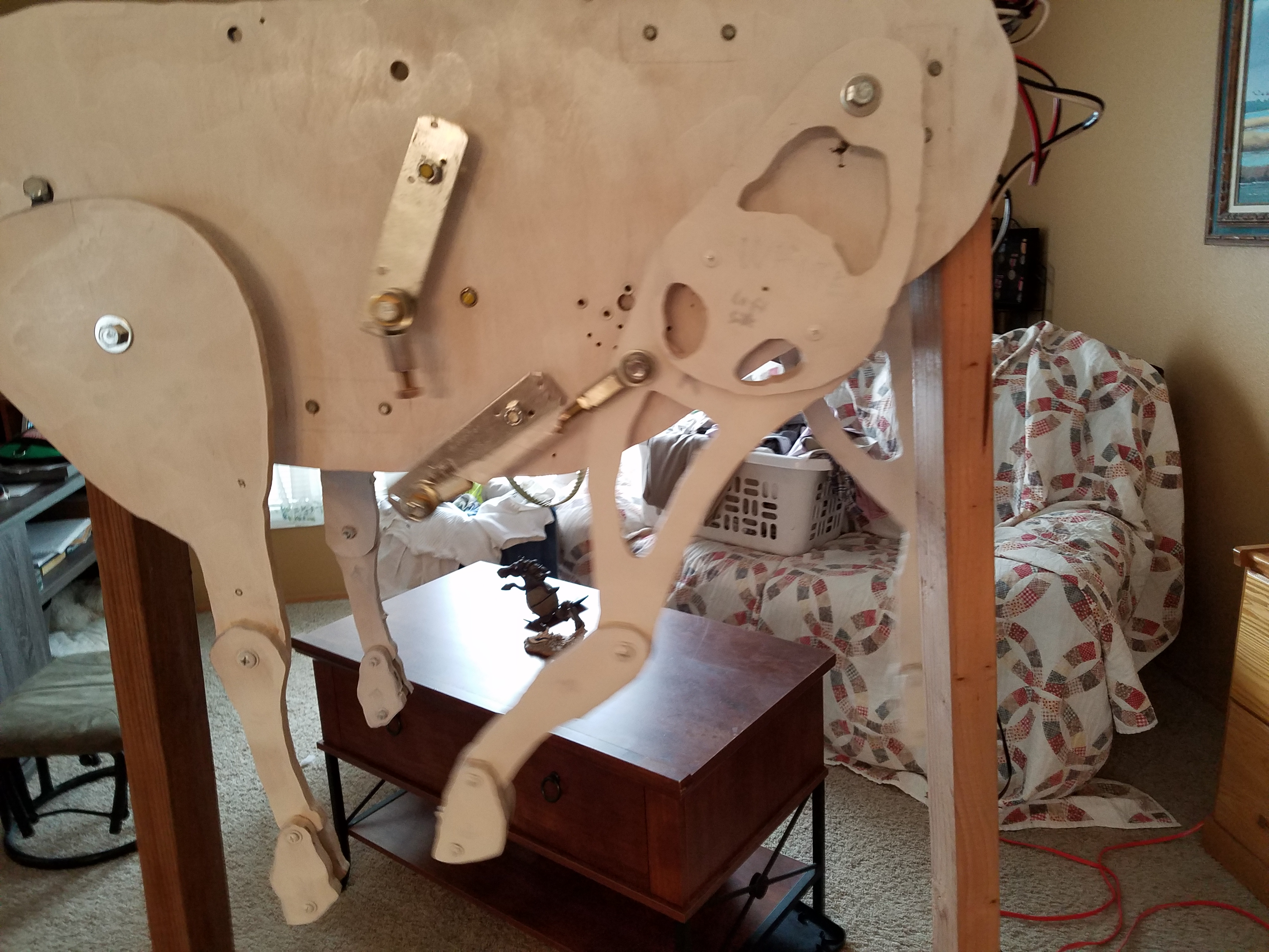 Picture of Attaching the Legs and Head
