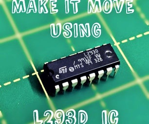 Using Motors With L293D IC