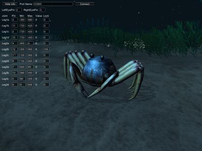 Running the Crab Simulator