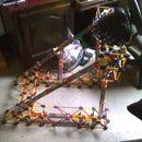 K'nex steering wheel mount
