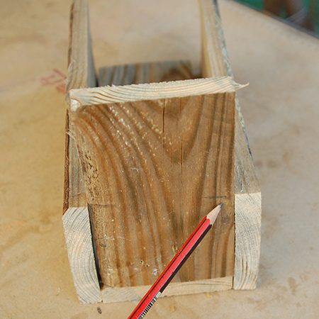 Picture of Reclaimed Pallet Napkin or Spice Holder