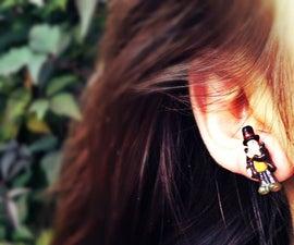 Professor Layton Earrings