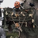 Halloween Pumpkin Scarecrow