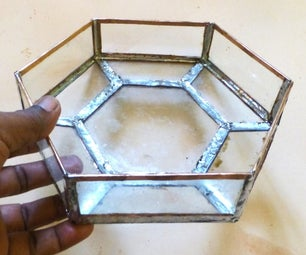 Stained Glass Bowl Using Copper Foil and Solder