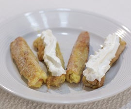 How to Make Amazing French Toast Roll Ups