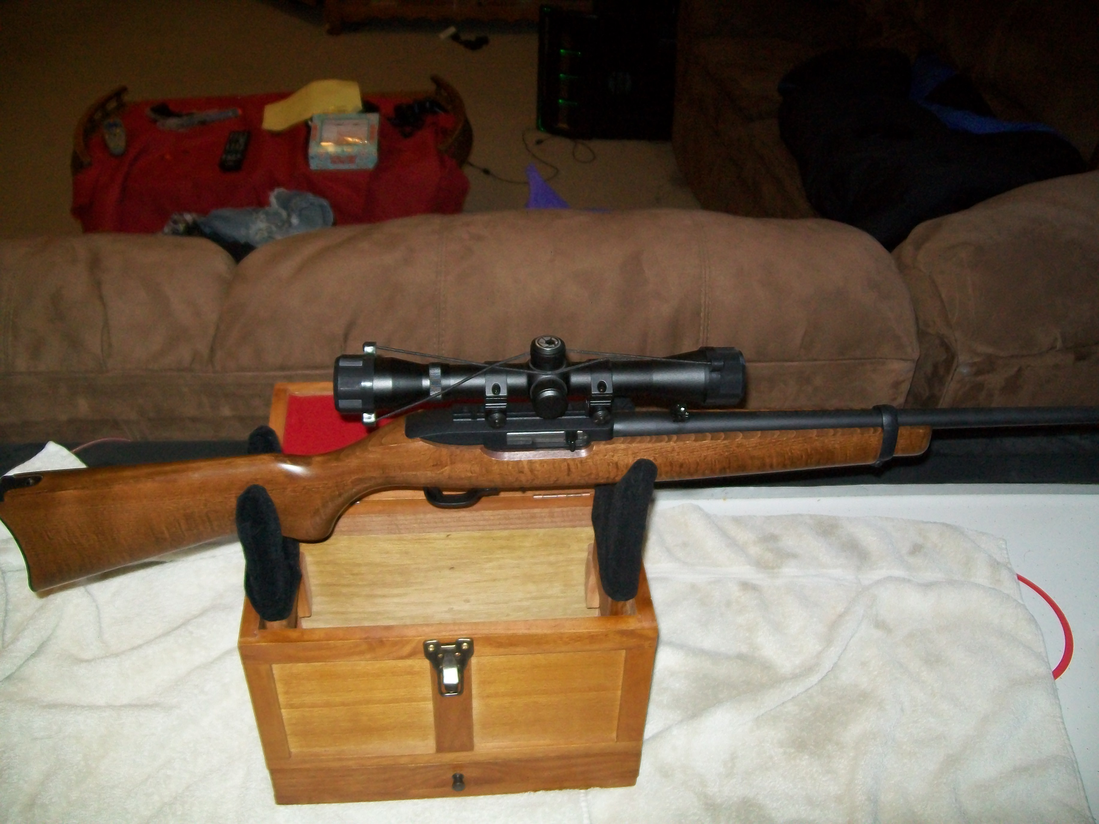 Picture of How to Field Strip a Ruger 10/22 Rifle for Cleaning