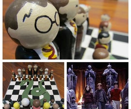 Harry Potter Chess Set & Case