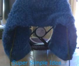 "Homemade Evap. Air Cooler DIY - Super Simple ""Table Top"" Air Cooler - Can Be Solar Powered!"
