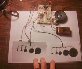 Atari Punk Console - Conductive Ink & Your Body