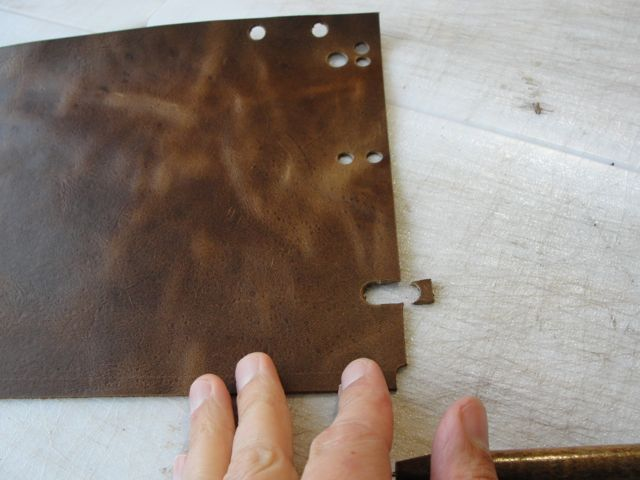 Picture of Transfer Patterns Onto Leather