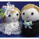 Sock Doll Couple