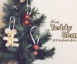 Teddy Bear DIY Ornament