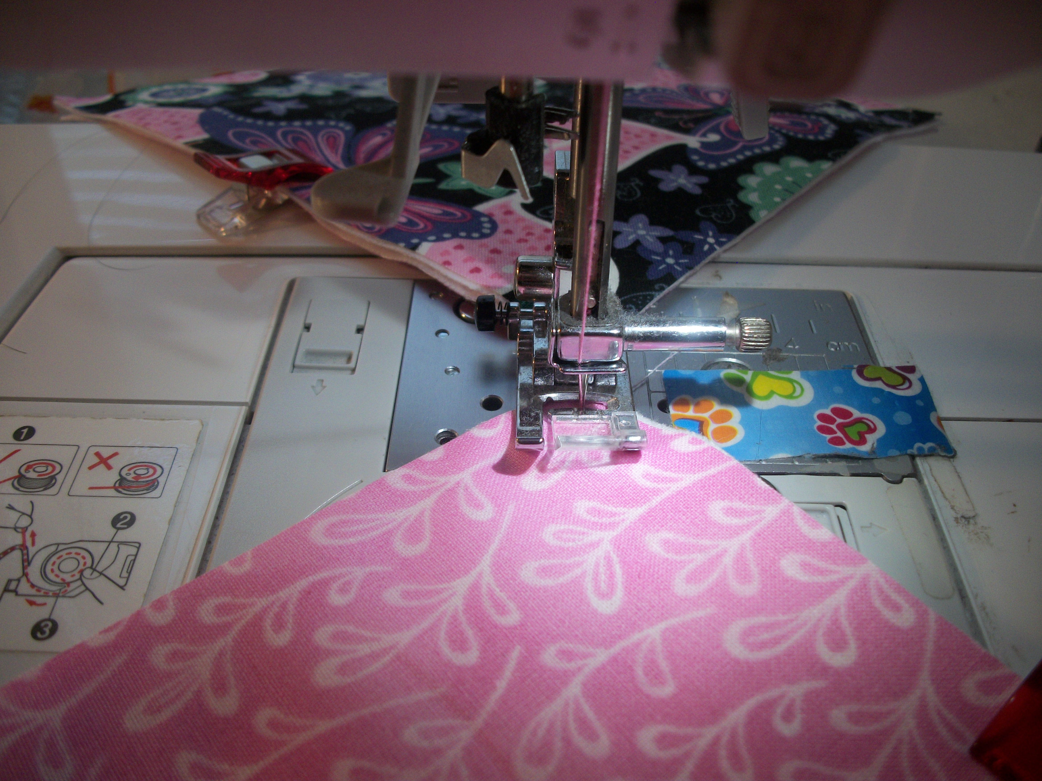 Picture of Sewing Your Squares