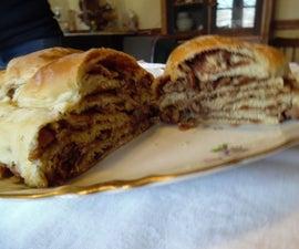 Braided Cinnamon Pecan Bread