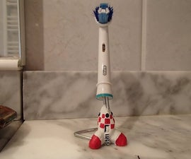 Toothbrush head holder