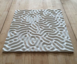 Your Brain on Pier 9: CNC Milled Corian