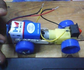 How to Make a Powered Car Very Simple