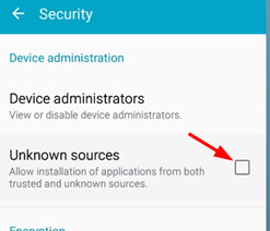 Picture of Step 2: Allow Installation From Unknown Sources