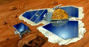 Picture of Paper Cutout Model of MARS PATHFINDER