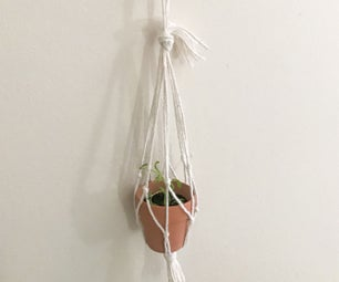 Hanging Mini Planter With Spoon Hook