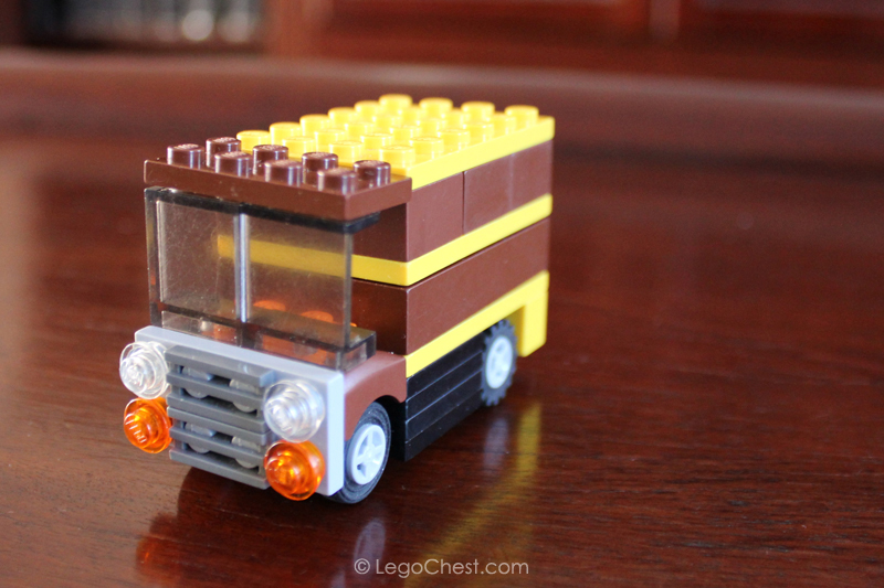 Picture of How to Build a UPS Truck Using LEGO