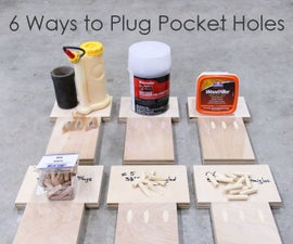 6 Ways to Plug or Fill Pocket Holes
