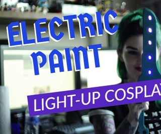 Electric Paint Light-up Cosplay Sword