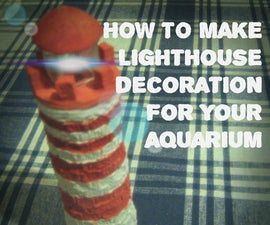 Lighthouse - Aquarium decoration