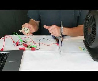 Makey Makey - Early Warning System for High Wind